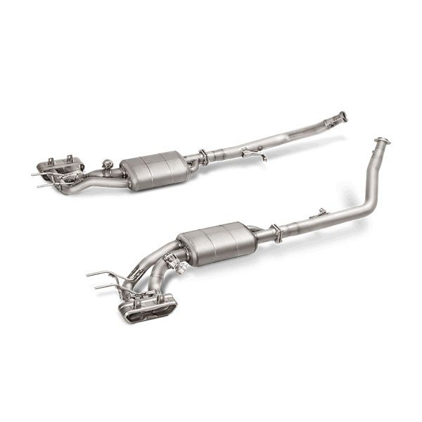 Akrapovic downpipes without cat Mercedes G63 AMG W463