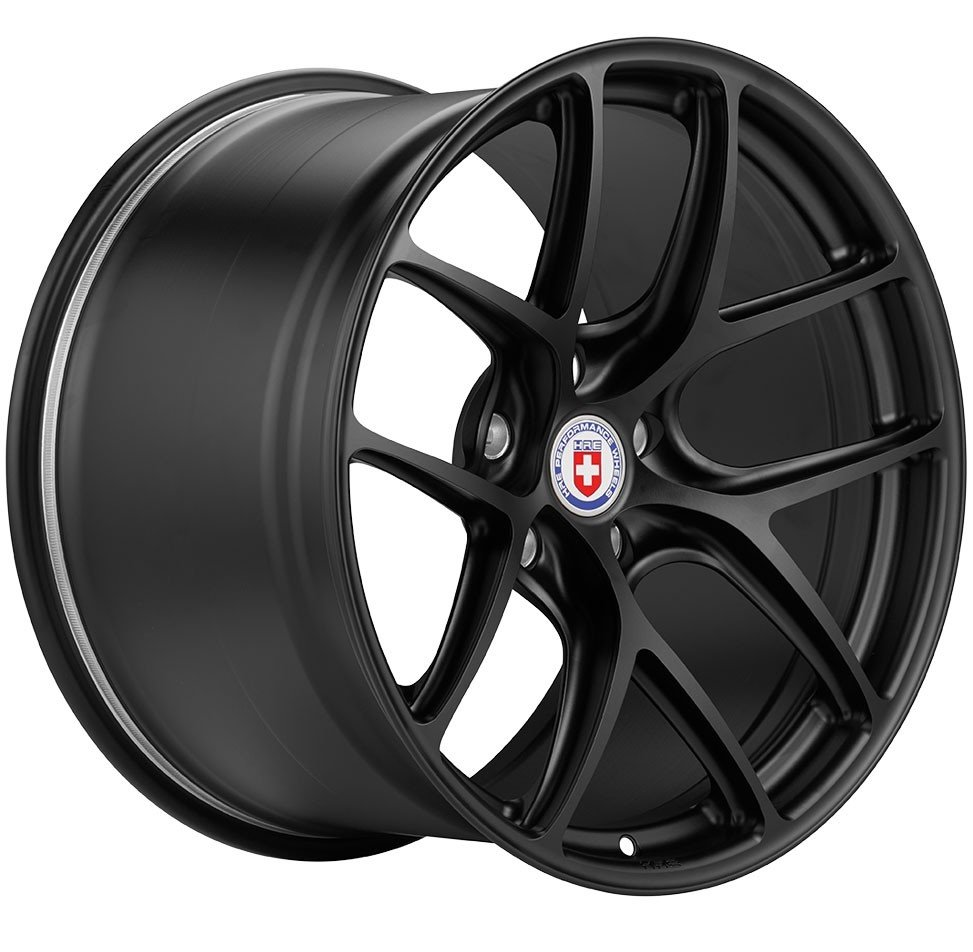 The Hre R101lw Lightweight Motorsport Wheels For Mclaren P1 In 19 20 Inch Forged Y Spoke Wheel Features A Concave Design