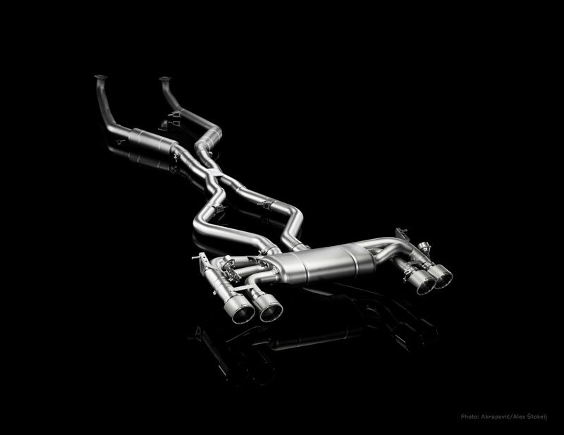 Akrapovic Evolution uitlaat BMW X6 M Uitlaat