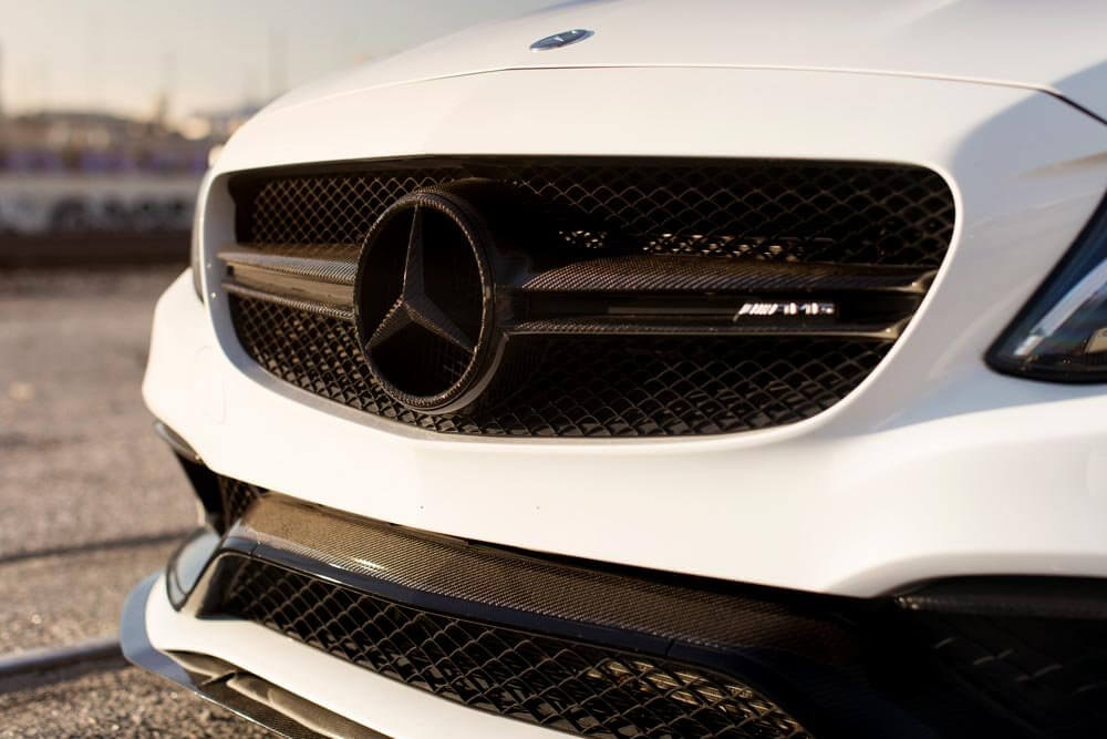 Mode Carbon Mercedes Benz W C Amg Sedan Carbon Grille on Replacement Mercedes Grille