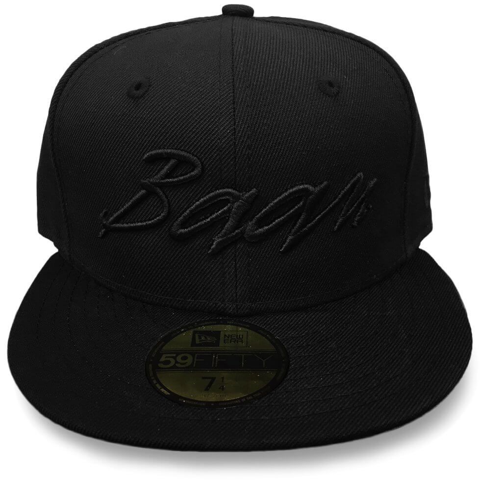74fb423adca35 The official Baan fitted cap. New Era 59Fifty with custom embroidered  raised Baan logo