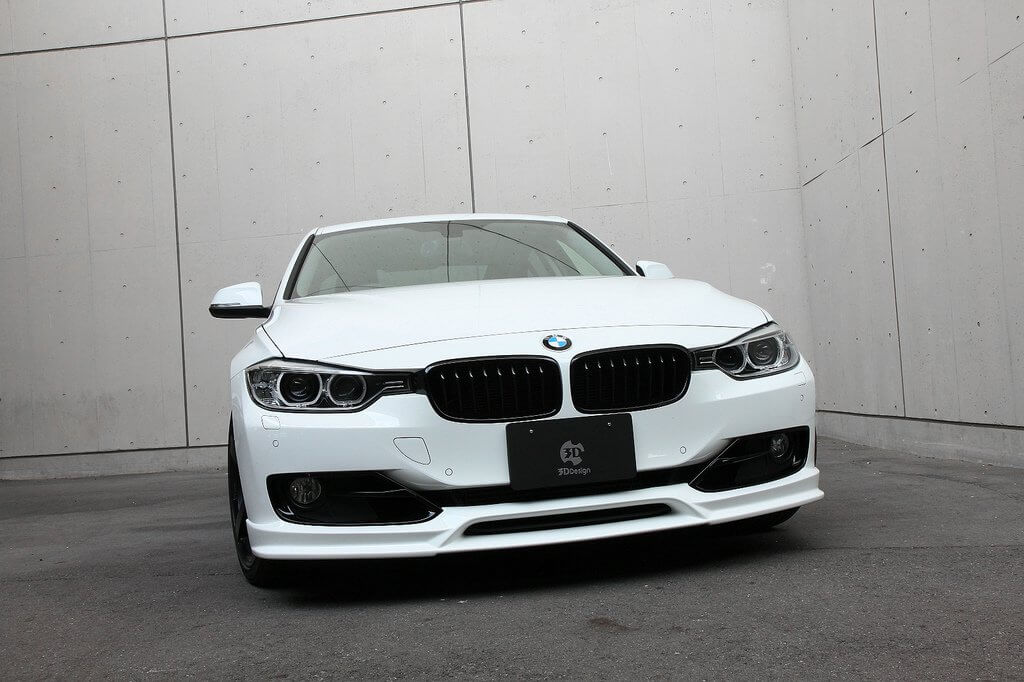 3ddesign Front Lip Spoiler Bmw 3 Series F30