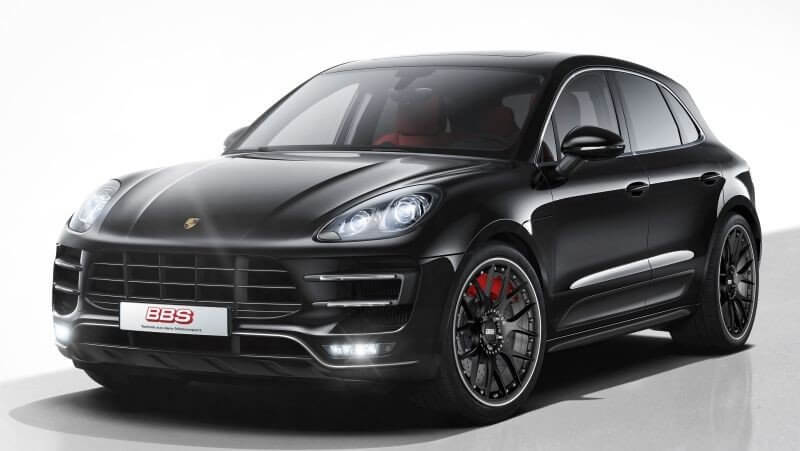 bbs ch r ii wheels porsche macan 21 inch satin black and. Black Bedroom Furniture Sets. Home Design Ideas