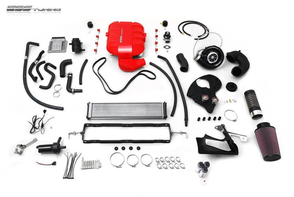 ESS Tuning BMW E92 M3 VT2-650 Intercooled Supercharger System