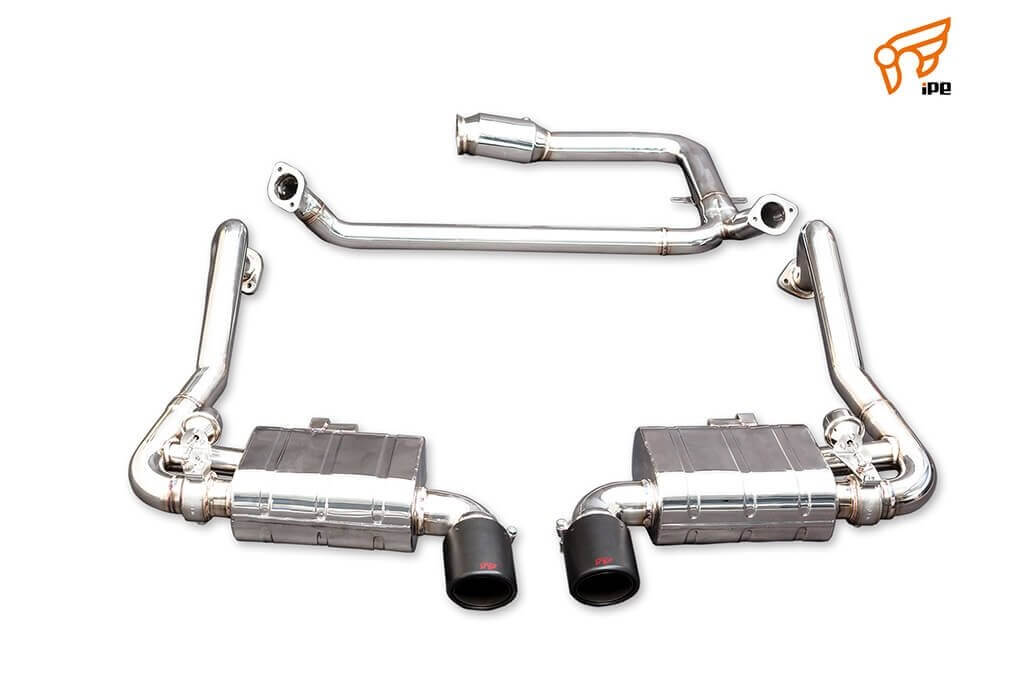 Ipe Exhaust For Porsche 718 Boxster Cayman