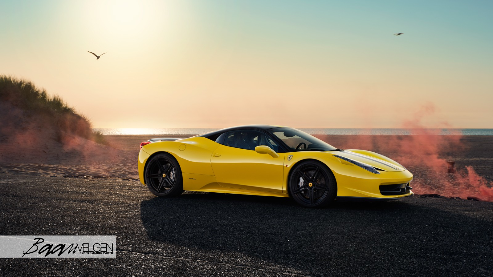 Ferrari 458 with an IPE Exhaust System & ADV.1 Wheels