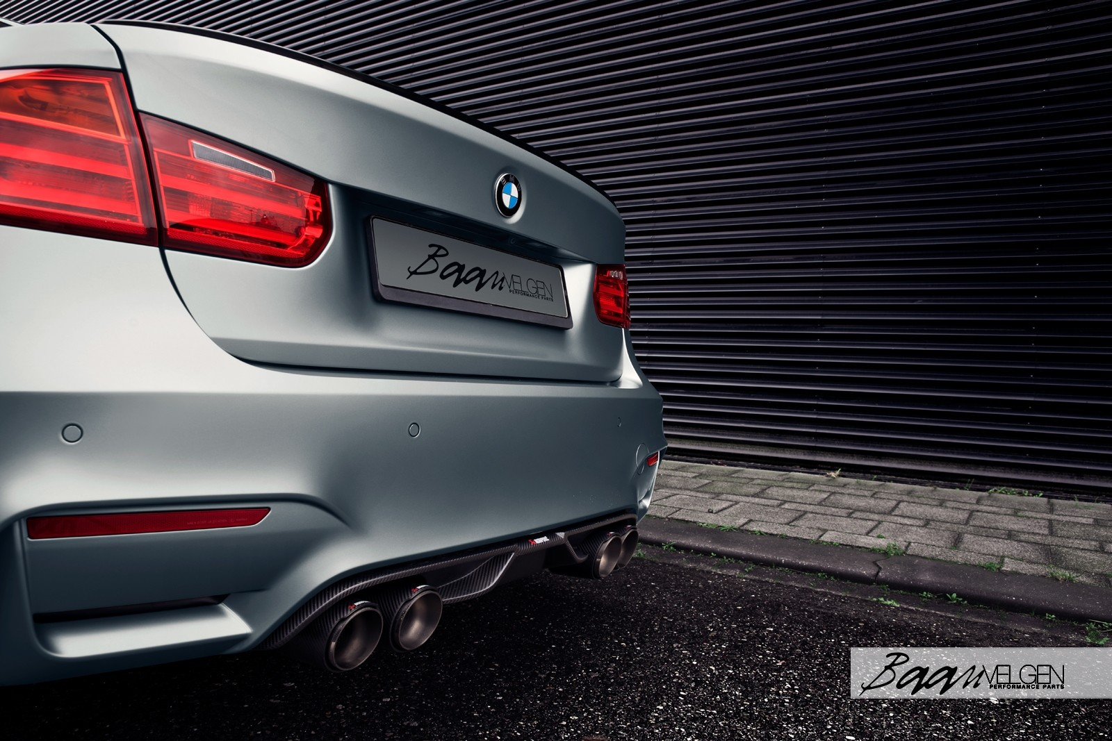 BMW F80 M3 with BBS FI-R Wheels and Akrapovic Exhaust