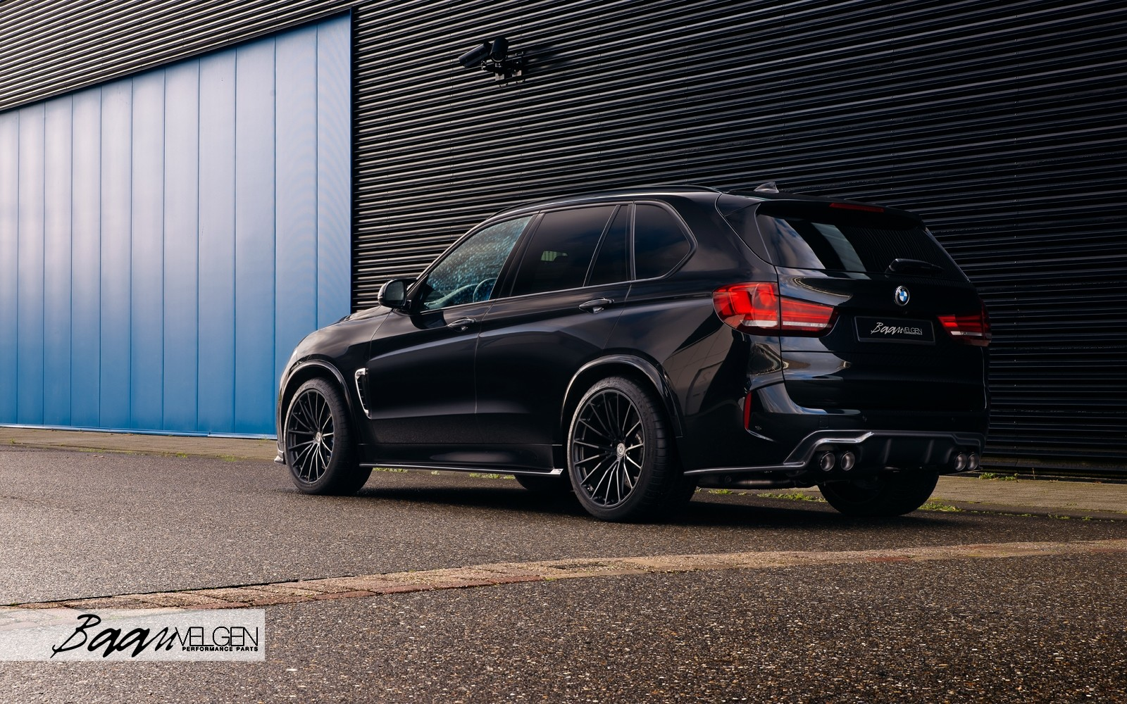 stories - BMW F85 X5M with 3DDesign Carbon and Akrapovic Exhaust