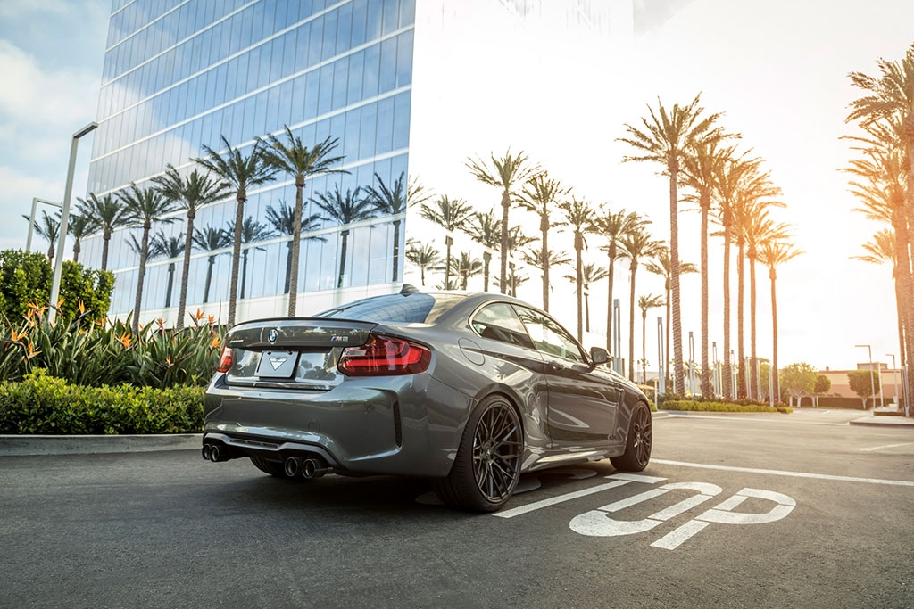 stories - Exhaust and wheels for the BMW M2 competition
