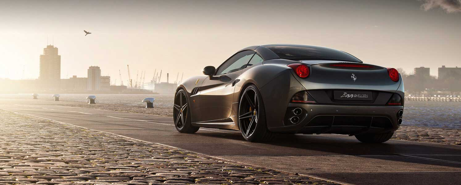 Ferrari California with IPE Exhaust and ADV.1 wheels